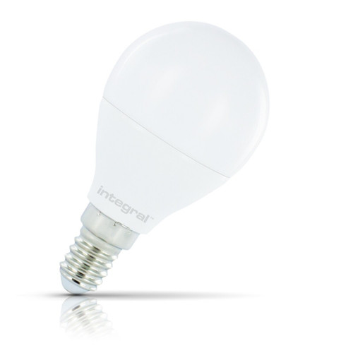 Integral LED Golfball 7.5W E14 Warm White Opal Image 1