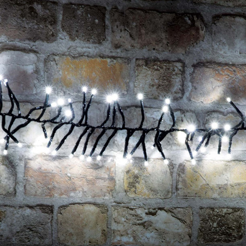 Lyyt LED Cluster String Light 2.5M (+5M Lead) Cool White Twinkle Effect Image 1