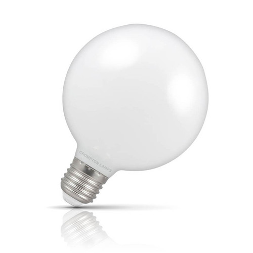 Crompton Lamps Dimmable LED Globe 7W E27 Warm White Opal Image 1