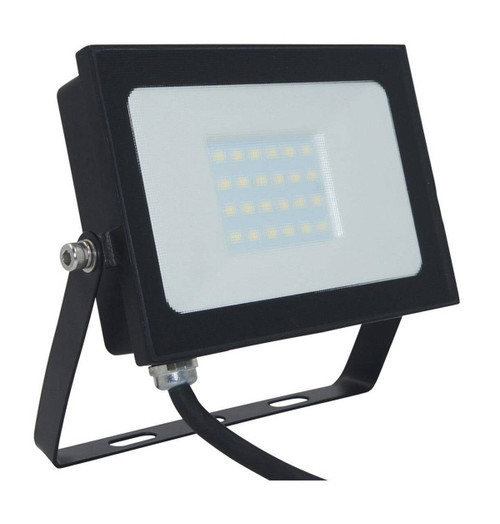 Phoebe LED Floodlight 20W Atlas-Mini Cool White Black IP65 Image 1