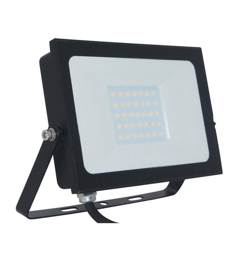 Phoebe LED Floodlight 30W Atlas-Mini Cool White Black IP65 Image 1