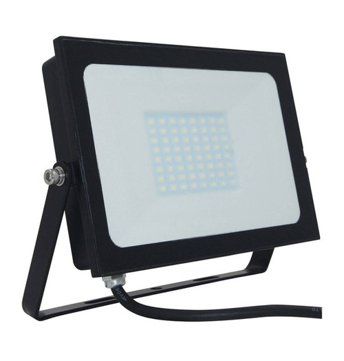 Phoebe LED Floodlight 50W Atlas-Mini Cool White Black IP65 Image 1