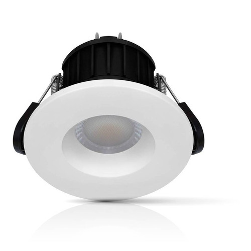 Phoebe Dim LED Smart Wifi Downlight 8.5W Firesafe Tuneable White 60° White or Brushed Nickel IP65 Image 1