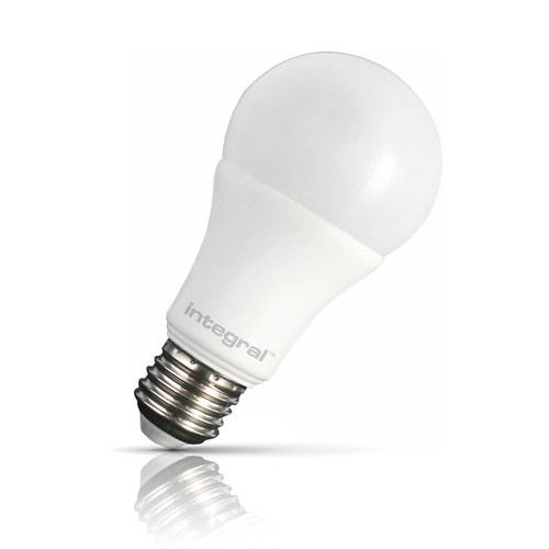 Integral LED Dimmable LED GLS 8.5W E27 Warm White Frosted Image 1