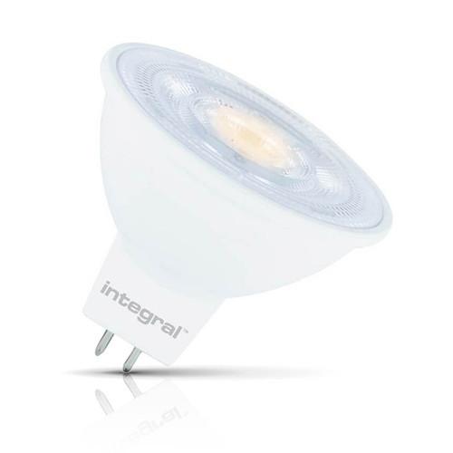 Integral LED Dimmable LED MR16 Spotlight 4.6W GU5.3 12V Warm White 36° Clear Image 1