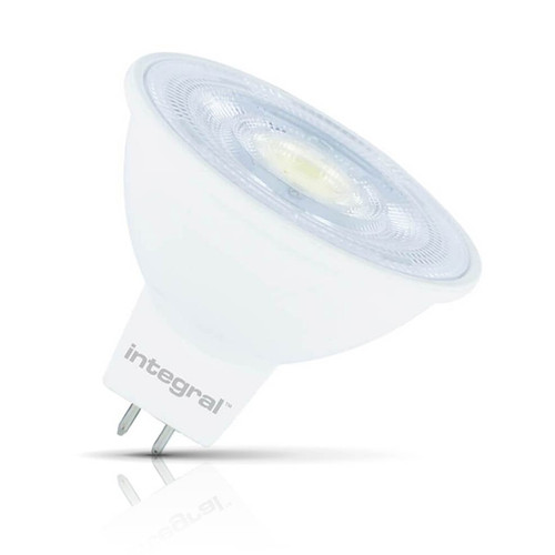 Integral LED Dimmable LED MR16 Spotlight 4.6W GU5.3 12V Cool White 36° Clear Image 1