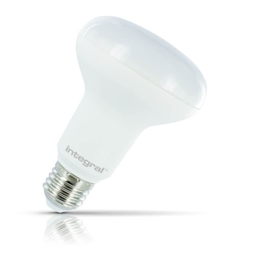 Integral LED Dimmable LED R80 Reflector 14W E27 Warm White 120° Frosted Image 1