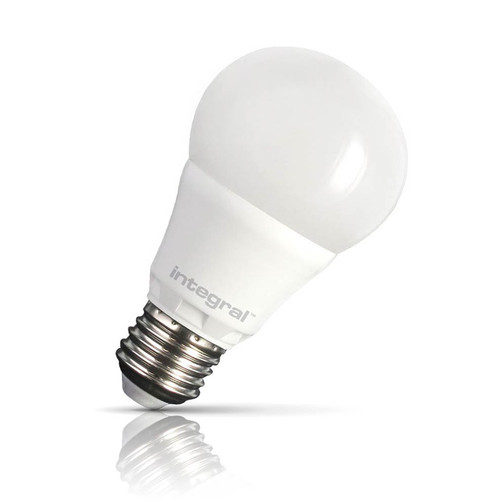 Integral LED Dimmable LED GLS 6.6W E27 Warm White Frosted Image 1