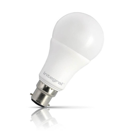 Integral LED Dimmable LED GLS 8.5W B22 Warm White Frosted Image 1