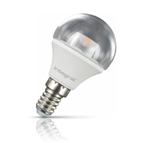 Integral LED Golfball 3.8W E14 Warm White Clear Image 1