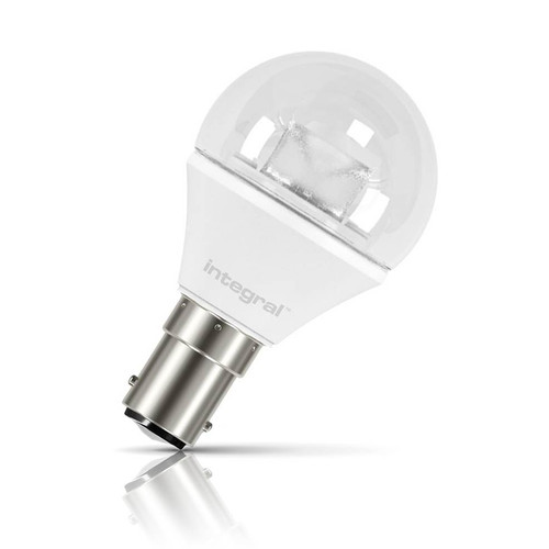 Integral LED Golfball 3.8W B15 Warm White Clear Image 1
