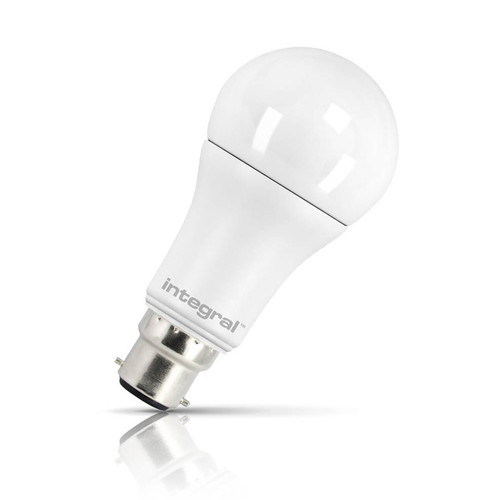 Integral LED GLS 10W B22 Warm White Frosted Image 1