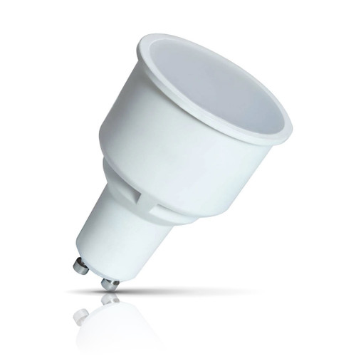 Crompton Lamps LED GU10 Spotlight 5.5W Long Barrel 75mm Warm White 100° (50W Eqv) Image 1