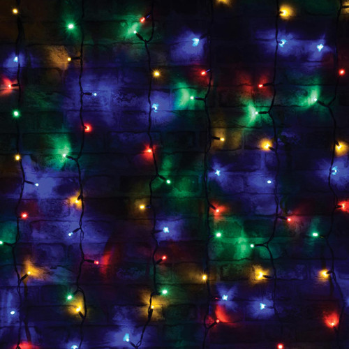 Lyyt-Connect LED Curtain Light 102 Connectible Multi-Coloured Image 1