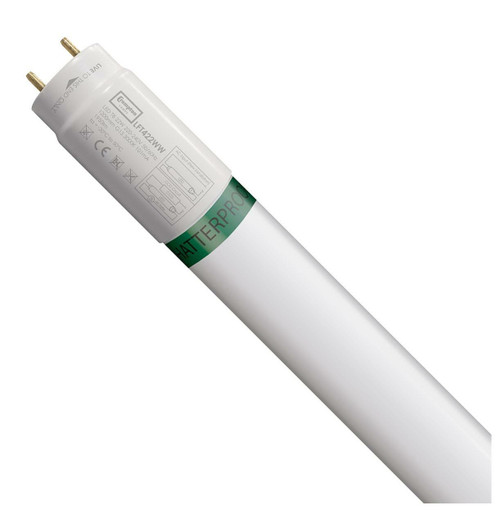 Crompton Lamps LED 4ft T8 Tube 22W Food Safe Shatterproof Warm White