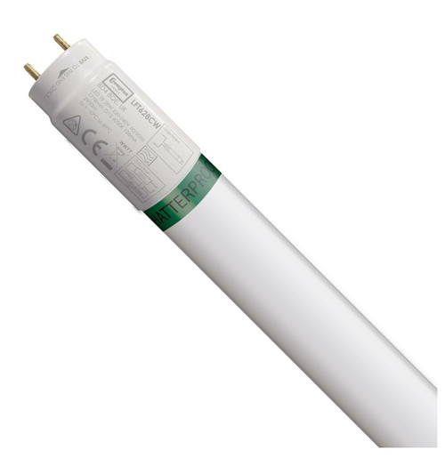 Crompton Lamps LED 6ft T8 Tube 28W Food Safe Shatterproof Cool White