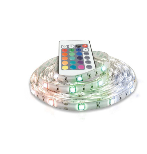 Phoebe LED Dimmable LED 5 Metre Strip Kit 32W Flexi-Strip with Remote RGB IP65 Image 1