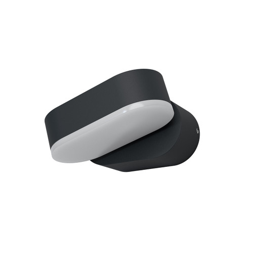 Ledvance LED Wall Light 8W Endura Style Mini Spot I Warm White Dark Grey Image 1