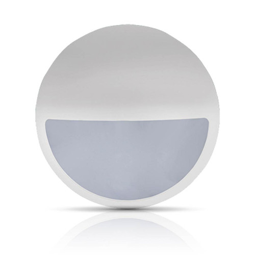 Phoebe LED Bulkhead Eyelid Cover Melana CCT White Image 1