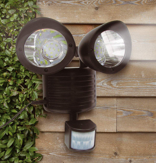 Solalite LED Solar Security Light Black Image 1