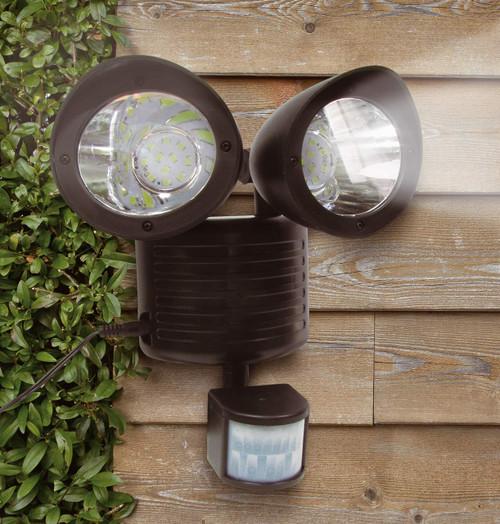 Solalite LED Solar Security Light Black Image 1