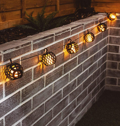 Solalite LED Solar Dancing Flame String Light Image 1