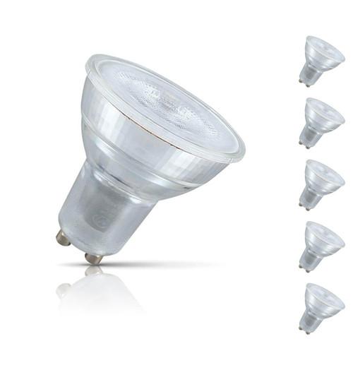Crompton GU10 Spotlight LED Bulb 4.5W (50W Eqv) Warm White 5-Pack 35°