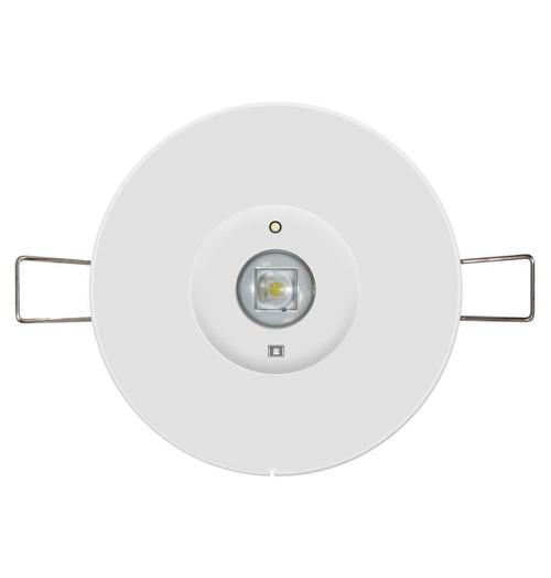 Phoebe LED Emergency Recessed Spot 1W Round Lens Krios Image 1
