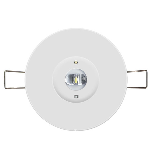 Phoebe LED Emergency Recessed Spot 1W Corridor Lens Kit for use with Emergency Recessed Spot Image 1