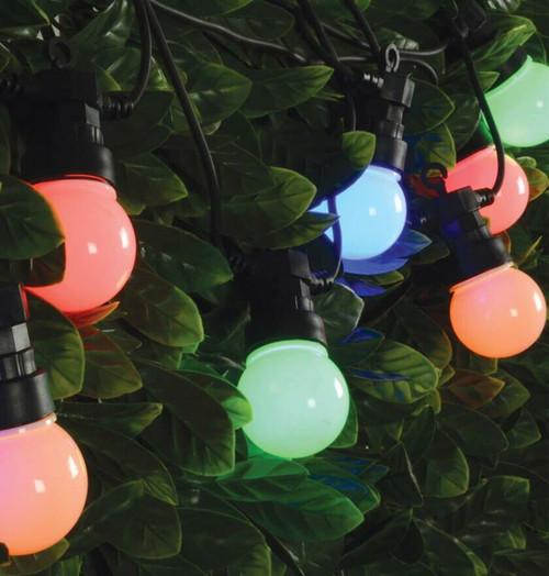 Lyyt LED 5 Metre Festoon Light Waterproof Multi-Coloured (10 Lights)