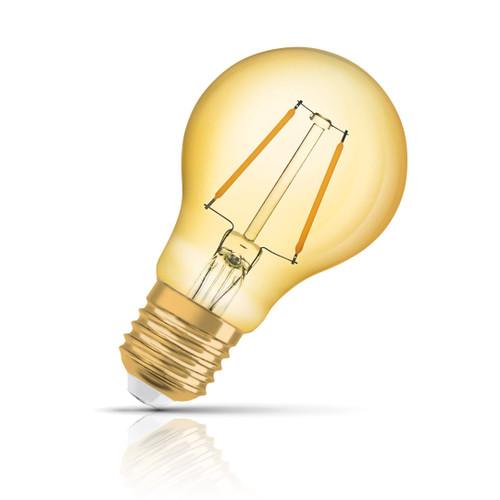 Osram GLS LED Light Bulb Filament E27 2.5W (22W Eqv) Extra Warm White Image 1