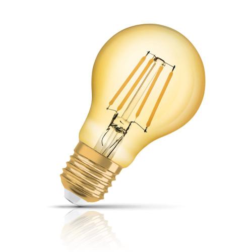 Osram GLS LED Light Bulb Filament E27 4W (35W Eqv) Extra Warm White Image 1