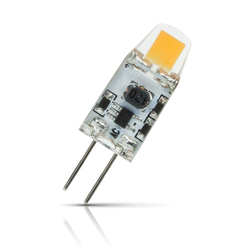 Prolite G4 Capsule LED Light Bulb 1.2W (10W Eqv) Cool White Clear Image 1