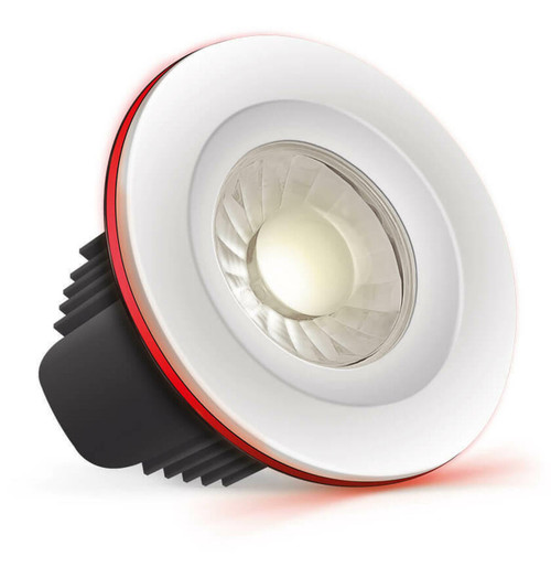 Phoebe LED Downlight Dimmable 10W Tuneable White + RGB Spectrum Wifi IP65 Image 1