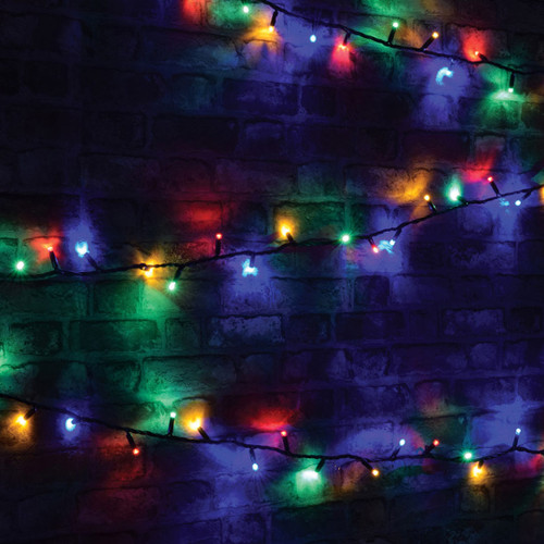 Lyyt-Connect 8m 100 Multi-Coloured LED Connectable Outdoor String Lights Image 1