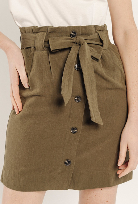 Sweewie Khaki Skirt