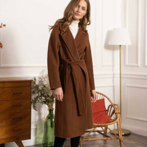 Double Fronted Chocolate Coat