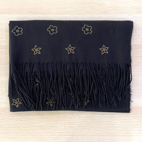 Diamonte Patterned Scarf