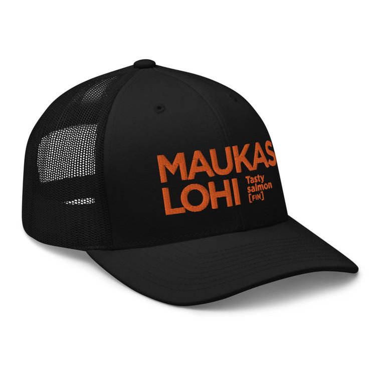 MAUKAS LOHI Retro Trucker Cap