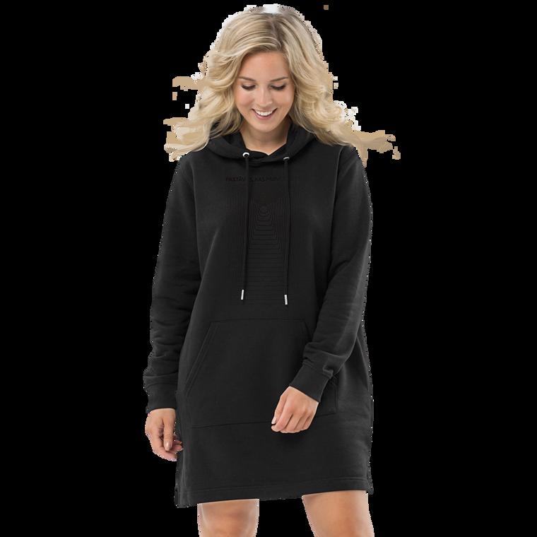 RAINIS Hoodie dress BLACK PRINT