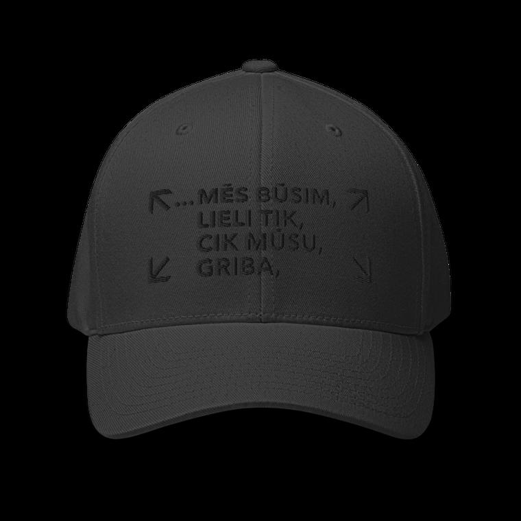 RAINIS. GRIBA. Closed-Back Structured Twill Cap