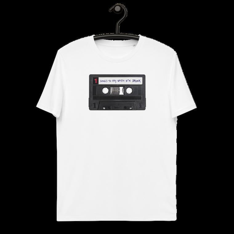 CASSETTE. Unisex organic cotton t-shirt