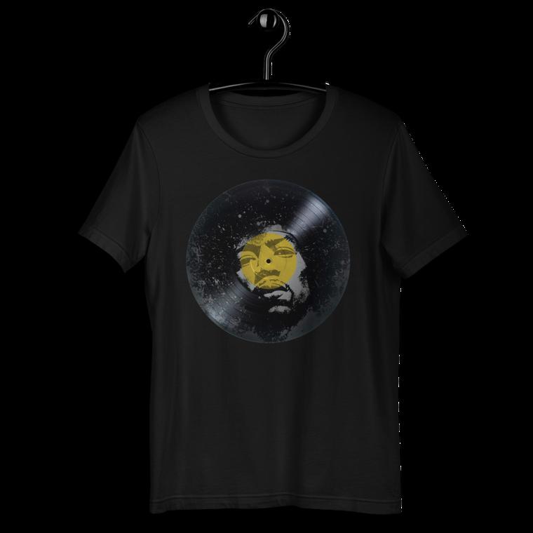 VINYL. JIMI HENDRIX Short-Sleeve Unisex T-Shirt