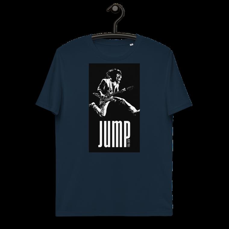 JUMP. Unisex organic cotton t-shirt