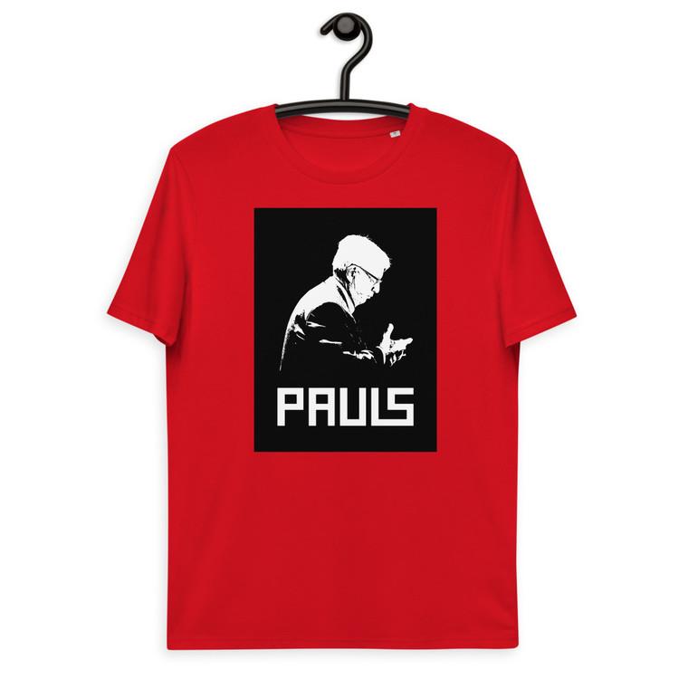 PAULS. Unisex organic cotton t-shirt