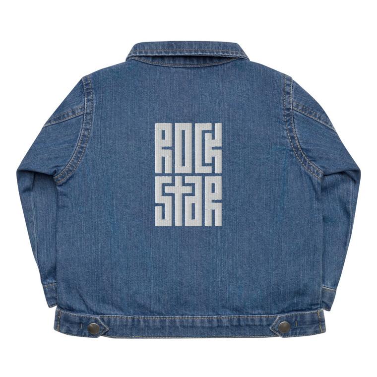 ROCKSTAR. Baby Organic Jeans Jacket