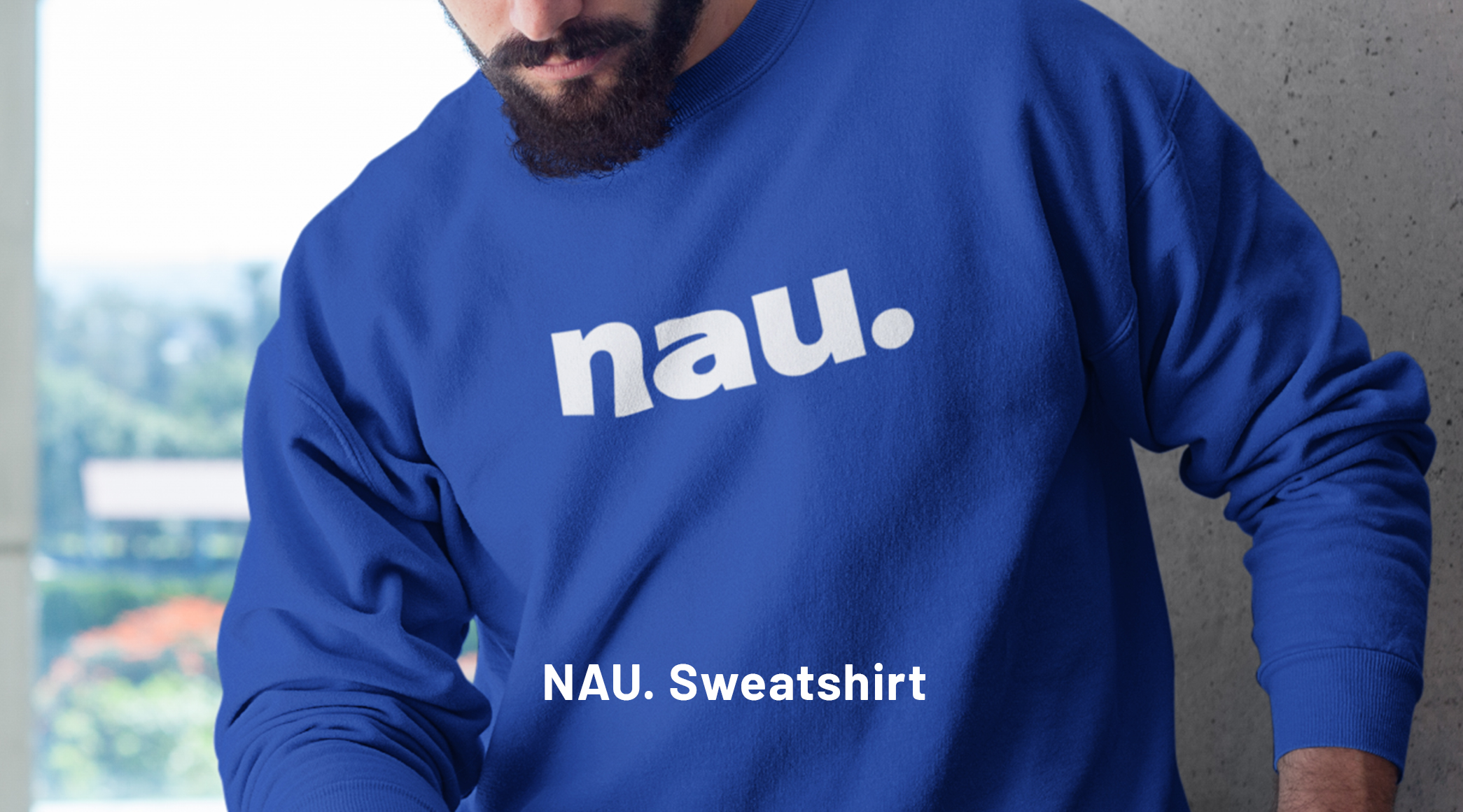NAU Unisex organic sweatshirt is made of organic and recycled materials, and feels soft and cozy to the touch. It has set-in sleeves, 2×2 rib at collar, and a self-fabric neck tape. Order your next eco-friendly essential and hit the streets in style!  • 80% organic cotton, 20% recycled polyester • 100% organic cotton exterior • Frenchy terry knit • Set-in sleeves • 2×2 rib at collar • Self-fabric neck tape • INNES.DESIGN logo on the back collar  Actual product color may slightly vary due to photographic lighting sources or your monitor settings.