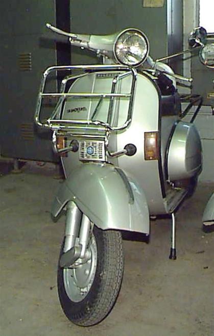 Cuppini, Front Rack (Large, Chrome); Vintage Vespas, Stella