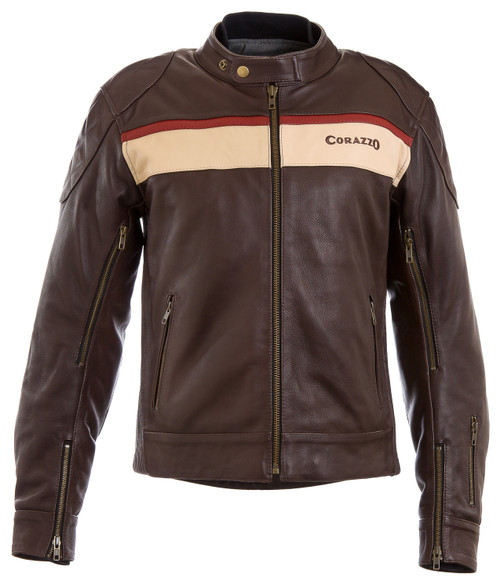 Men's Corazzo Corso Leather Jacket