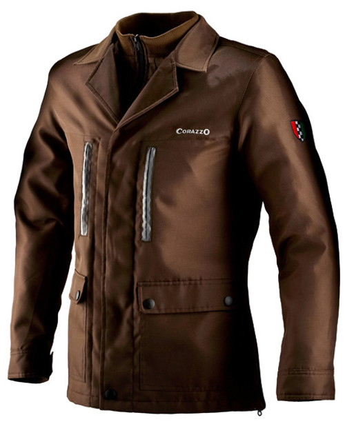 Men's Corazzo Tempeste Jacket-Brown